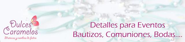 detalles invitadas bautizos, comuniones y bodas