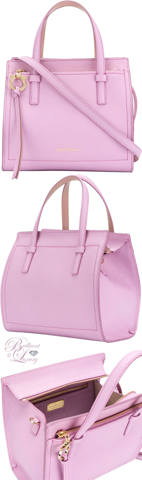 Brilliant Luxury ♦ Salvatore Ferragamo Gancio tote bag