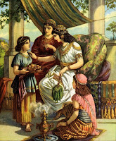 6. A Servant Girl Tells Naaman's Wife About the Prophet