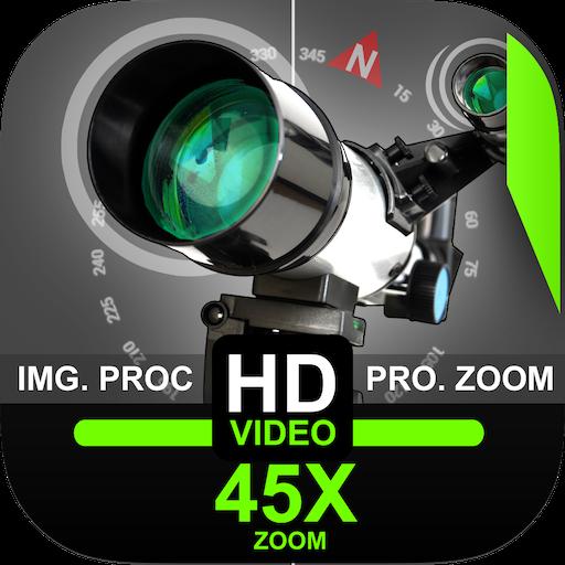 Telescope 45x Zoom Camera (Photo and Video) 1.3 | Unlocked APK