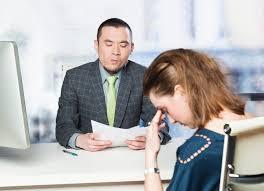 entrevista de emprego mulher