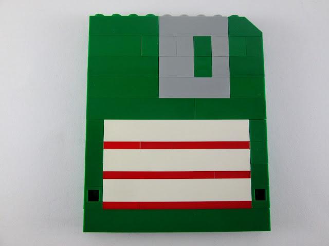 MOC LEGO Disquetes