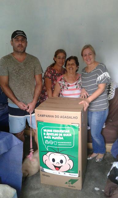 Fundo Social entrega agasalhos Arrecadados em Registro-SP