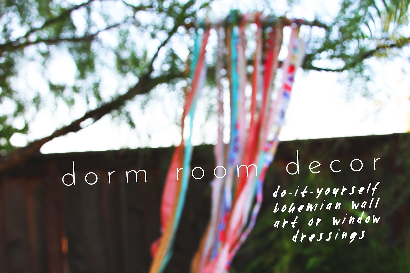 bedroom decorations for teenage girls DIY DORM ROOM DECOR // BOHEMIAN WALL ART + WINDOW DRESSINGS