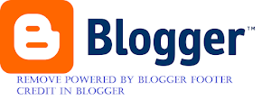 how to remove powered by blogger from your blogspot blog