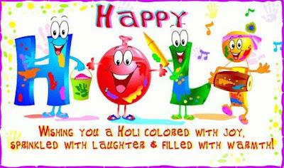 Happy Holi 2017 HD Cards