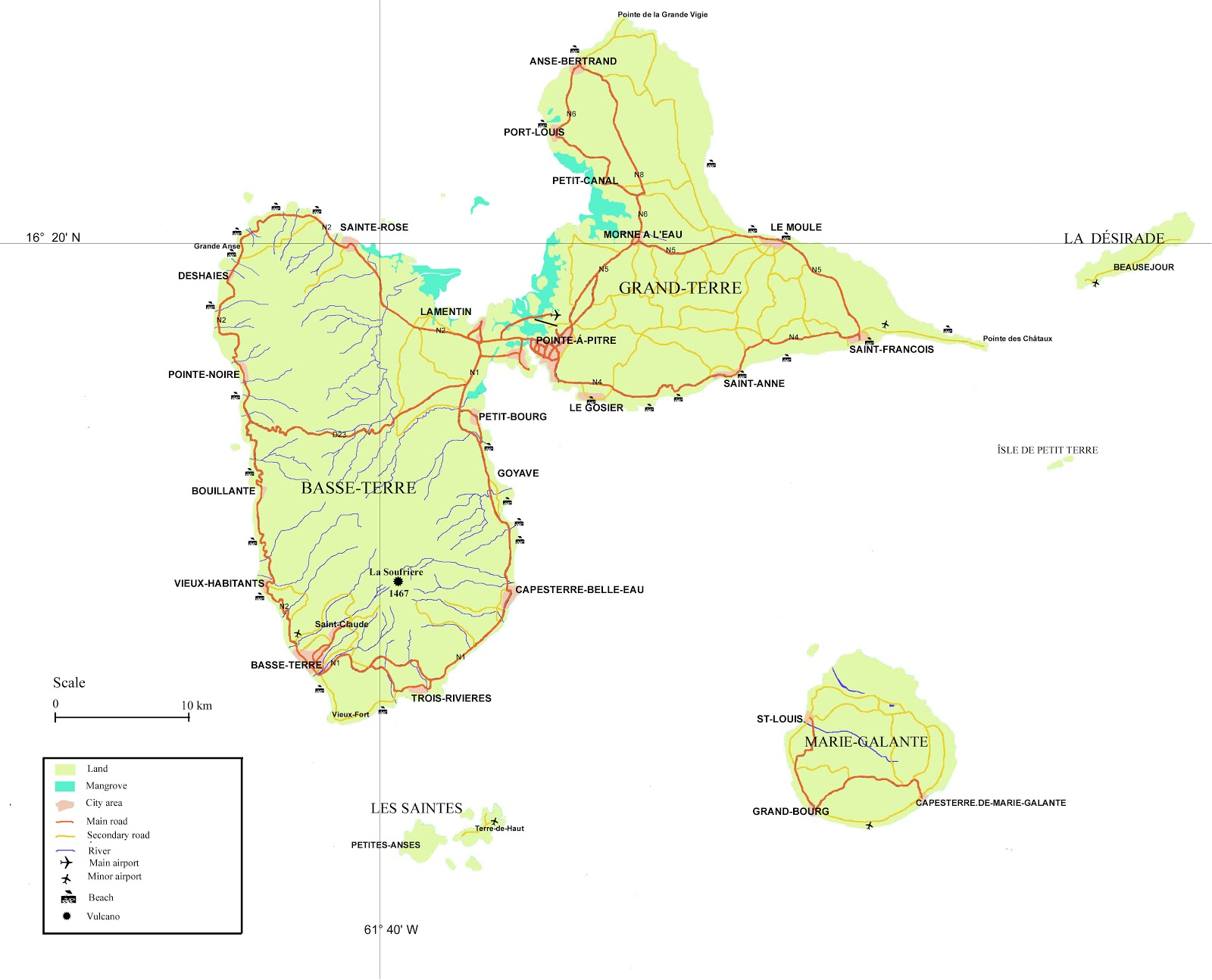 Mapas de Guadalupe | França