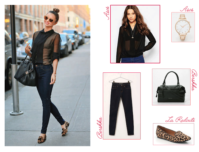 Get the look (for less) spécial Back to School 2015 Miranda Kerr