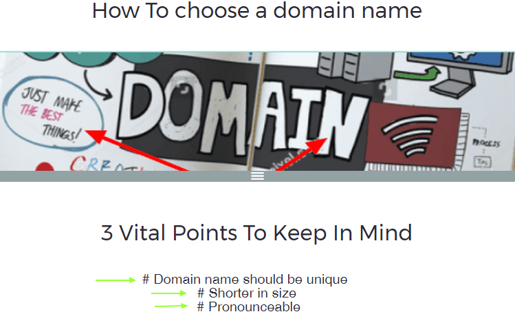 3 vital points on How to choose a domain name
