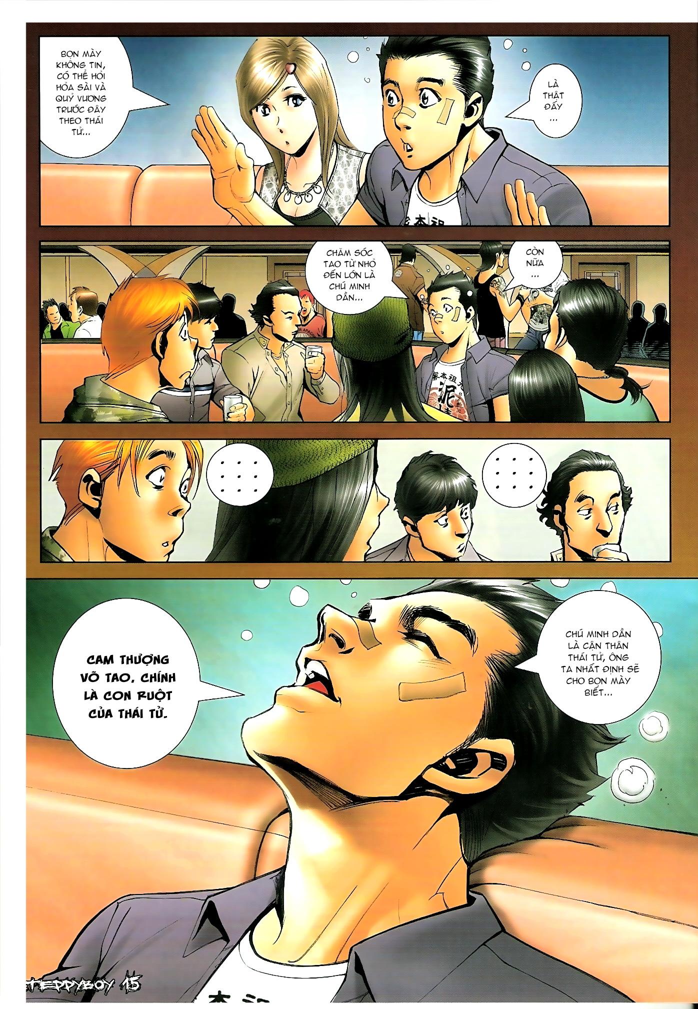 Người Trong Giang Hồ - Chapter 1310: Đừng gạt em nữa - Pic 14
