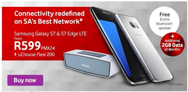Vodacom Samsung S7 Edge Deals #thelifesway