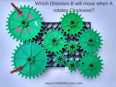 Rotating Gears Visual Puzzle