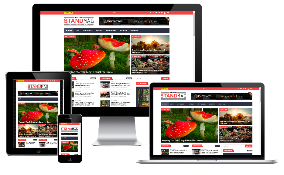 Stand Mag - Responsive Blogger Magazine - Blogger Blogging