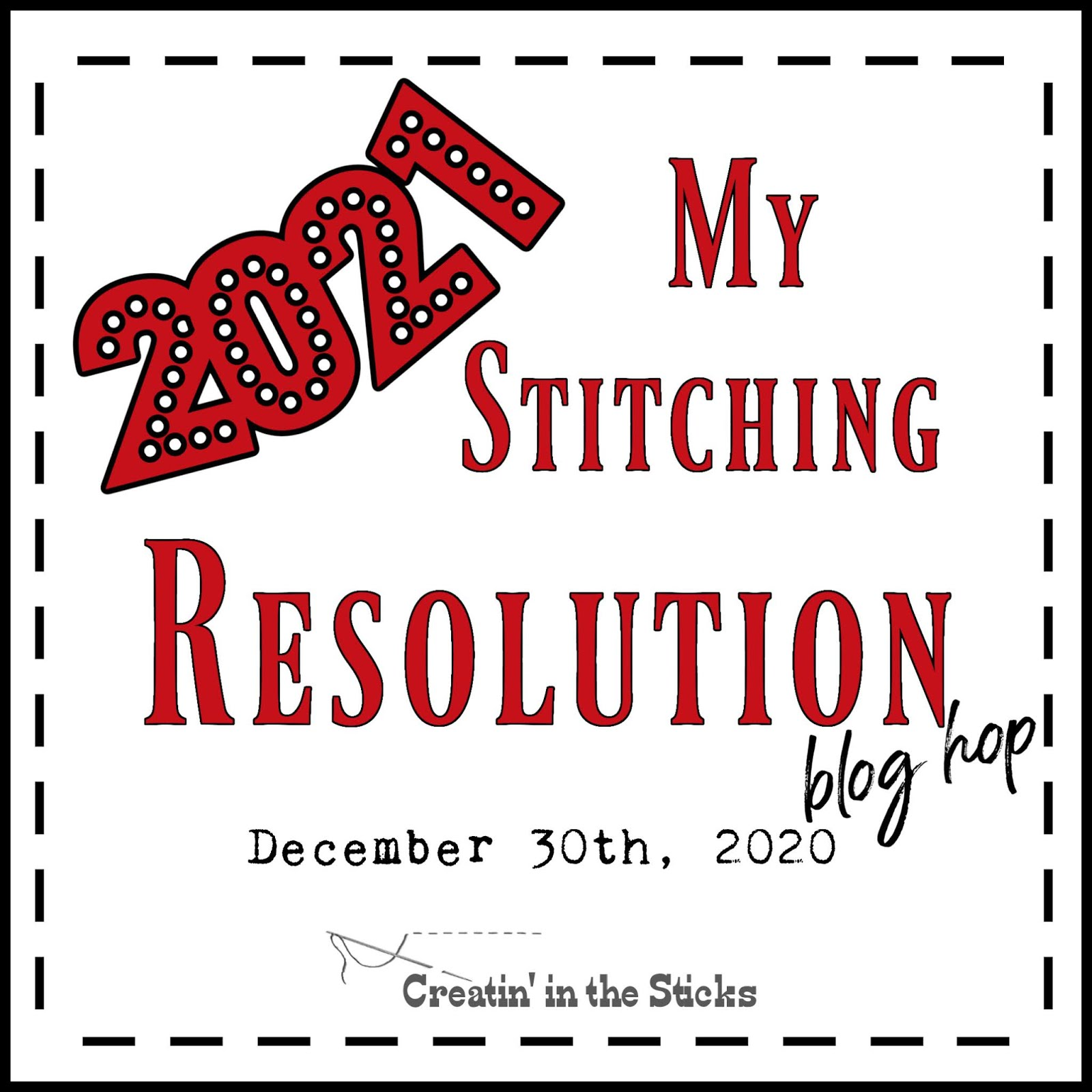 My Stitching Resolution 2021