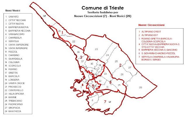 Rioni di Trieste