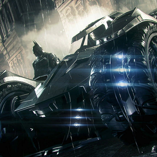 Batman Mobile Wallpaper Engine