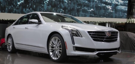 2016 Cadillac CT6 At New York Auto Show
