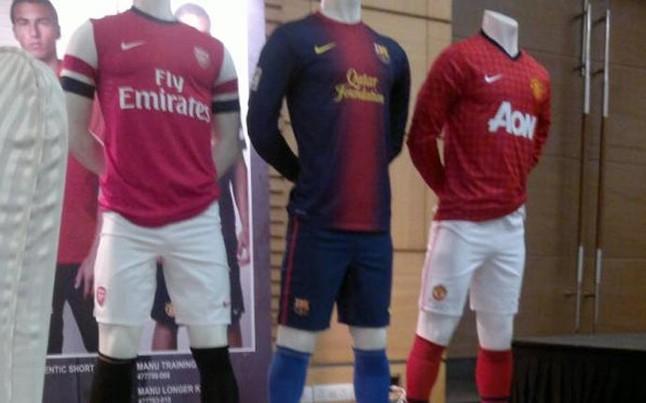 Vazam As Fotos Dos Novos Uniformes De Arsenal, Barcelona E