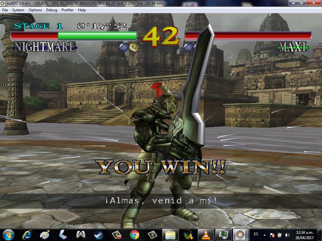 NullDC - Sega Dreamcast Emulator - Inmortal games