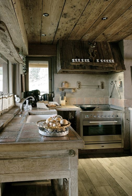 Interior Design For Kitchen: World Of Architecture: 30 Rustic Chalet Interior Design Ideas