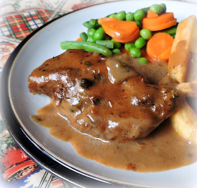 Braised Beef with a Peppercorn Sauce