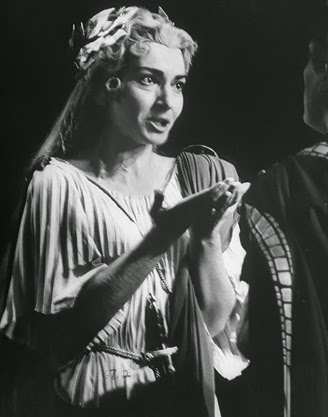Maria Calla as Norma in 1954