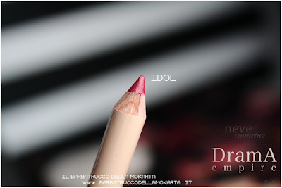 IDOL  review Bio Pastello Labbra drama empire collection neve cosmetics