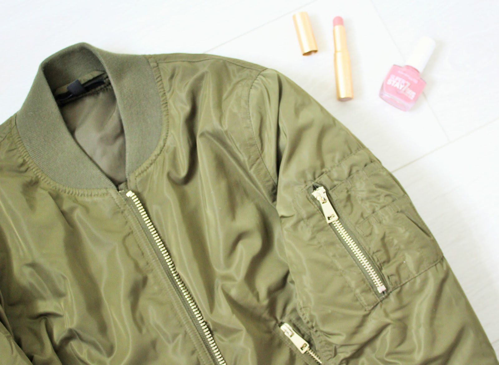 August Favourites 2 - Topshop Bomber Jacket