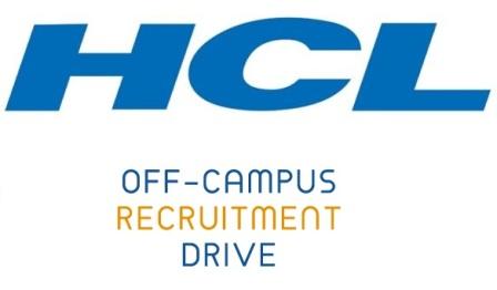 HCL Off-Campus Drive Registration Link