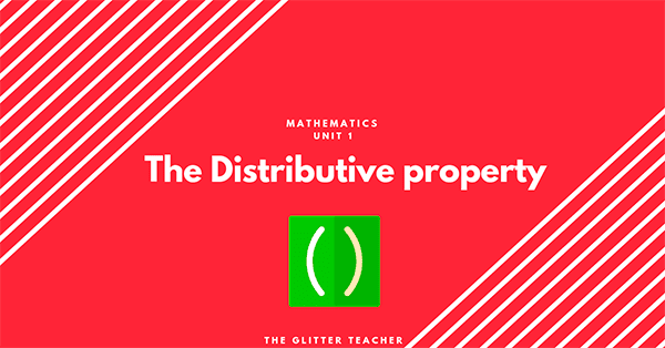The Distributive property. Year 6 Maths