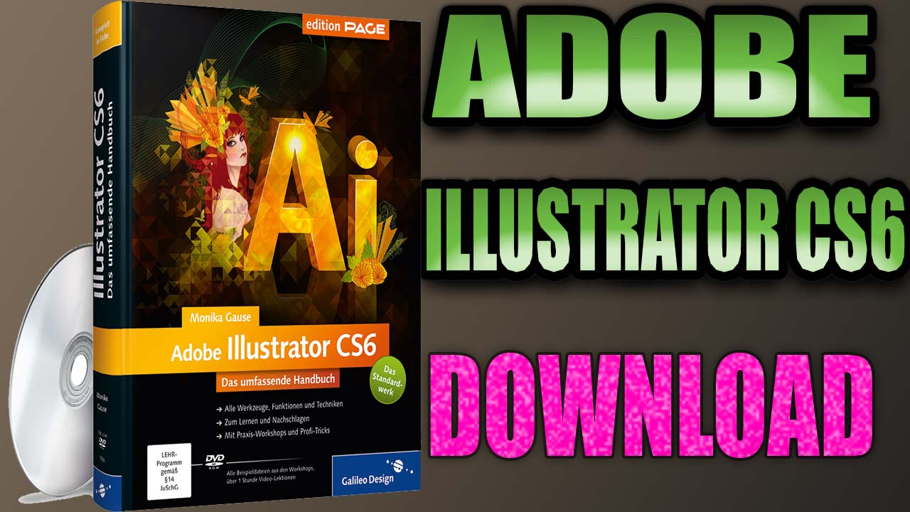 How to Install download Illustrator CS6 Multilingual 32 or 64 Bit