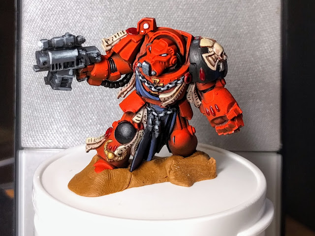 Painted up Brother Deino model