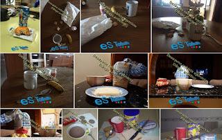 Fotos originales del desayuno