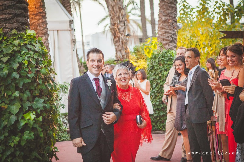 vestido rojo madrina