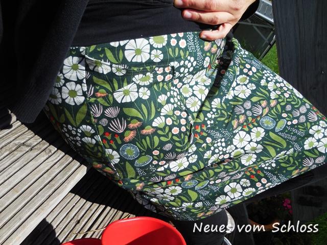 12 letters of handmade fashion (August), Rock Frau Hilda, Biostoff, rums- neuesvomschloss.blogspot.de