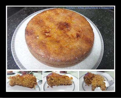 BOLO DE FRUTAS TROPICAL; abacaxi; bolo caseiro; bolo de abacaxi