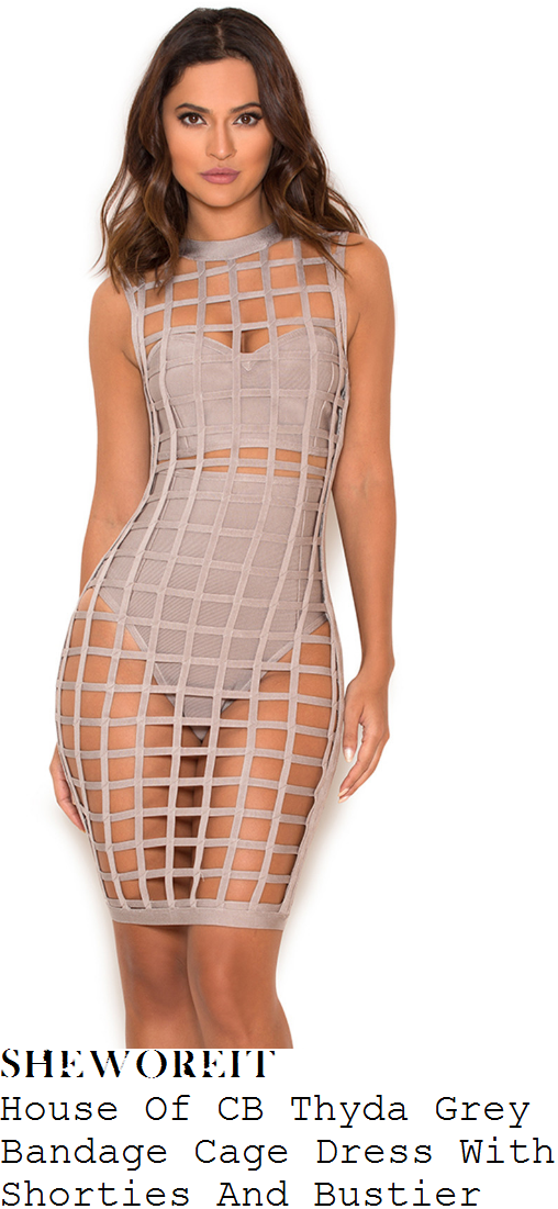 kady-mcdermott-house-of-cb-thyda-mink-grey-sheer-lattice-cage-bustier-and-high-waisted-shorties-underlay-detail-bodycon-bandage-dress