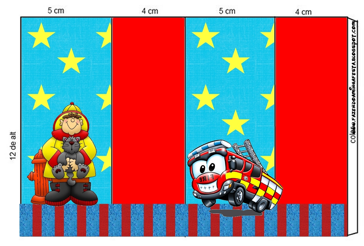 Fireman Themed Party Free Printable Candy Buffet Labels