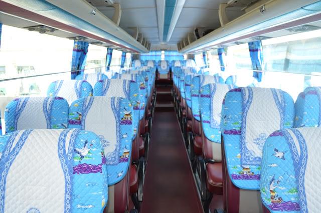 Dịch vụ cho thuê xe hợp đồng và du lịch tại Phú Yên - Nội Thất bên trong xe du lịch 29 Chỗ - Xe Phúc Thuận Thảo