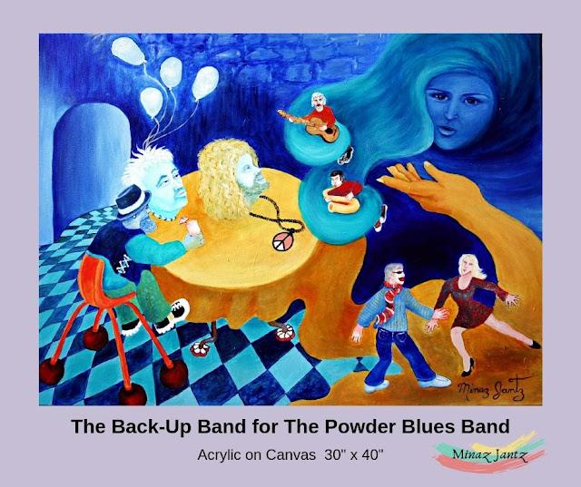 The Back Up Band by Minaz Jantz