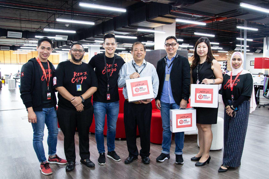 Redcargo Logistics & GDEX partnership