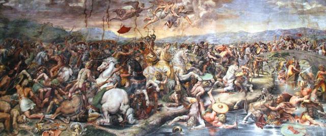 Битва при Марчиано работы Джорджо Вазари