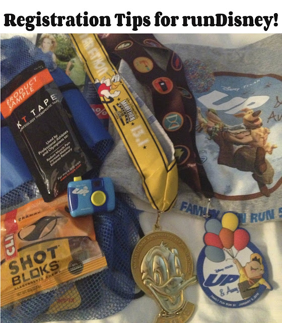 runDisney Registration Tips