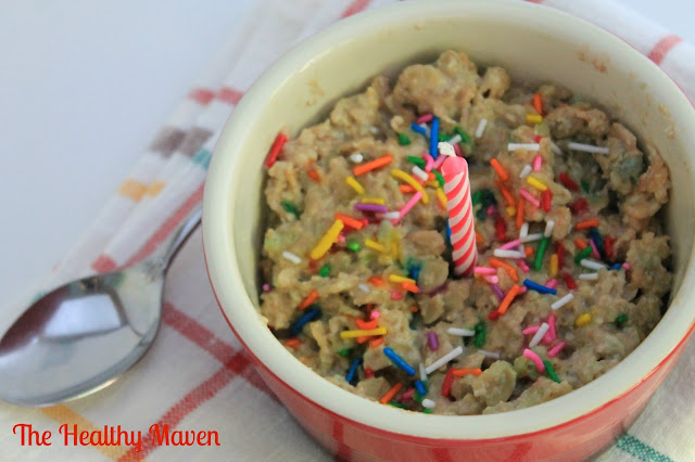 Birthday Cake Oatmeal