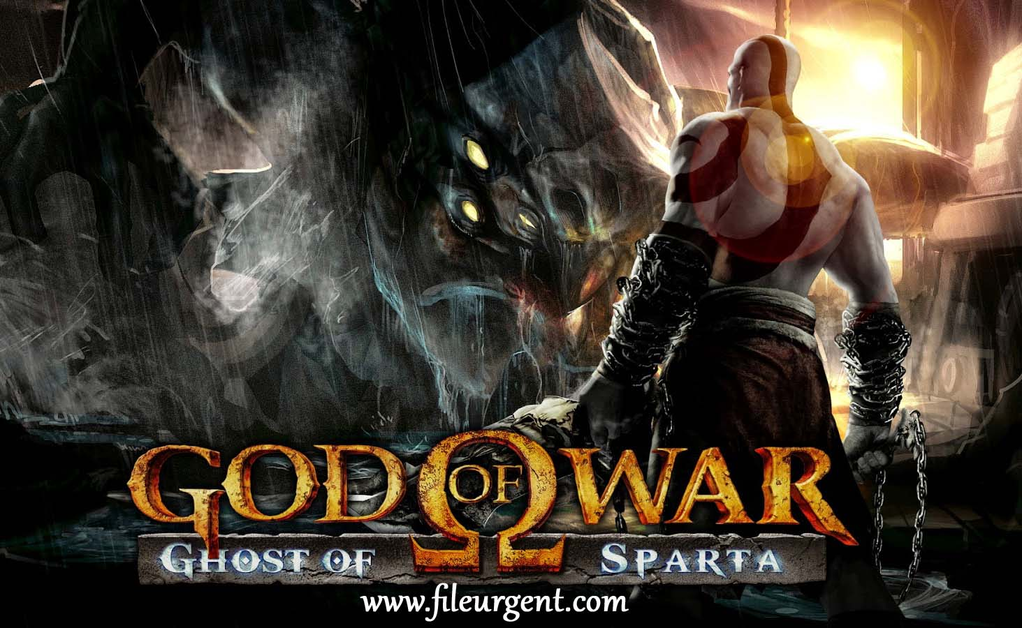 God of war ghost of sparta iso Free PSP Game