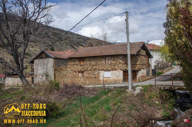 Traditional architecture - Brajčino village, Resen municipality, Macedonia