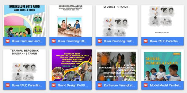 Buku Panduan Mengajar PAUD Kurikulum 2013 Revisi 2016