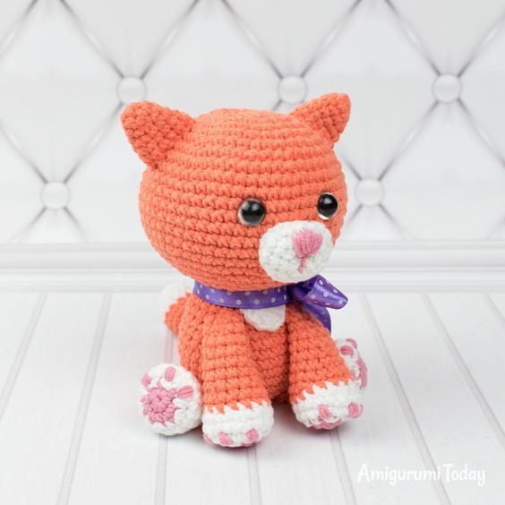 GATITO SIAMES Amigurumi Tutorial - YouTube | 564x564