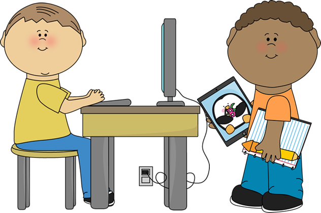 clipart classroom technology computers computer using lab transparent cliparts clip tech integrating graphic teacher clipartmag library