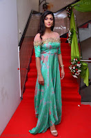 Anisha Ambrose sizzles in cute Green Anarkali Dress at Fashion TV F Club Saloon Launch ~  Exclusive 024.JPG